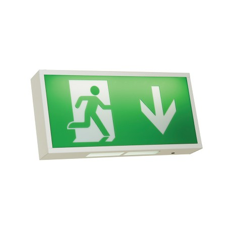 Watchman LED Exit Sign 3W LED White