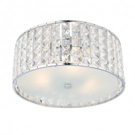 Endon Endon Belfont IP44 Flush Ceiling Light