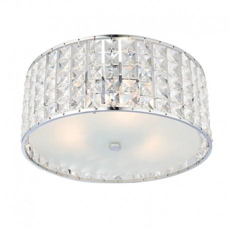 Endon Belfont IP44 Flush Ceiling Light