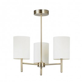 Endon Endon Lighting Brio Brass Finish Ceiling Light