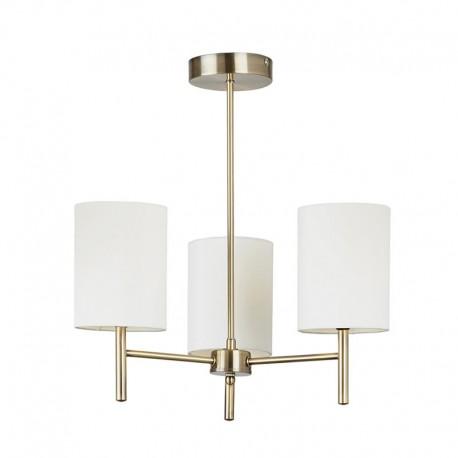 Endon Lighting Brio Brass Finish Ceiling Light