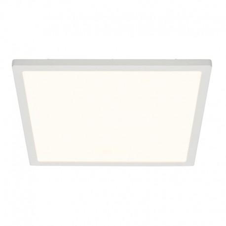 Ceres Square Flush Gloss White 10W LED 250mm Ceiling Light