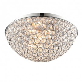 Endon Endon Chryla IP44 Flush Ceiling Light