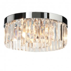 Endon Endon Crystal IP44 Flush Ceiling Light