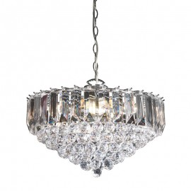 Fargo 6 Bulb Chrome Effect Pendant Light