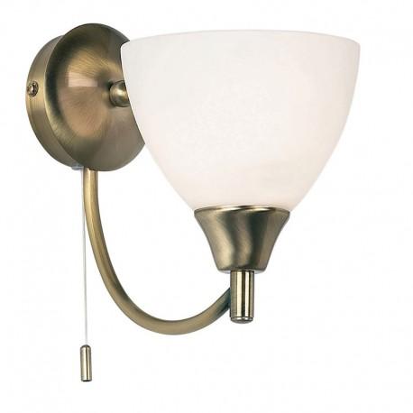 Antique brass wall light alton antique brass wall light aloadofball Images