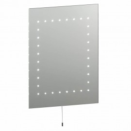 Endon Mareh IP44 Pull Cord Simple LED Bathroom Mirror