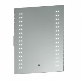 Endon Perle LED Bathroom Mirror, Shaver Socket & Motion Sensor