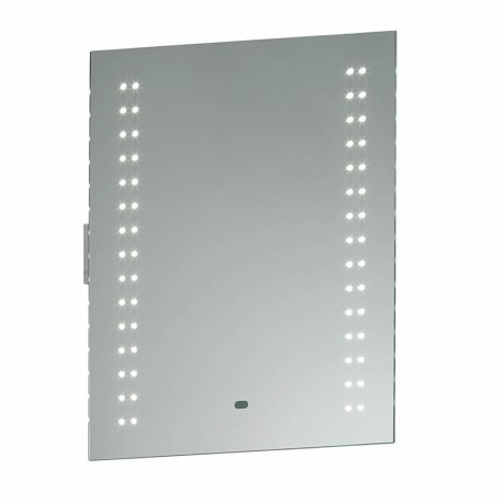 Perle LED Bathroom Mirror, Shaver Socket & Motion Sensor