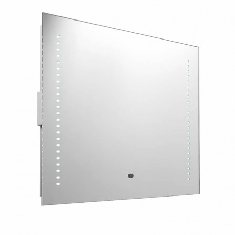 Rift RGB LED Bathroom Mirror, Motion Sensor & Shaver Socket