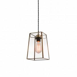 Endon Beaumont Non Electric Angular Glass Pendant Light