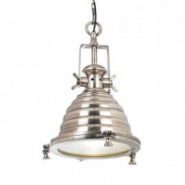 Endon Gaskill Tarnish Silver Ceiling Pendant Light