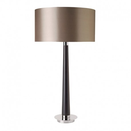 Corvina Walnut Coloured Wooden Table Lamp