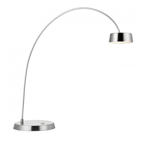 Finch Touch Task Brushed Nickel Effect Table Lamp
