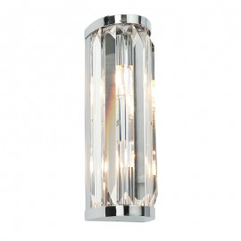 Endon Endon Crystal IP44 Flush Wall Light