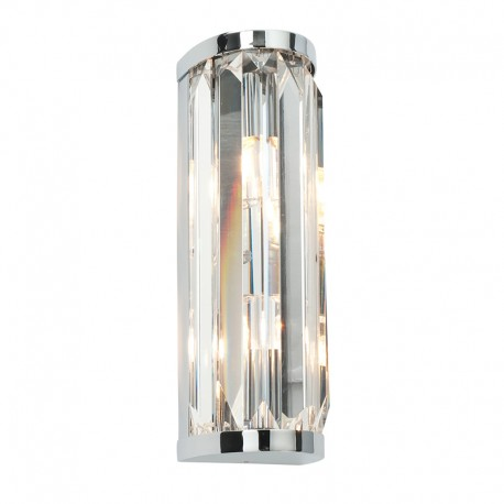 Endon Crystal IP44 Flush Wall Light