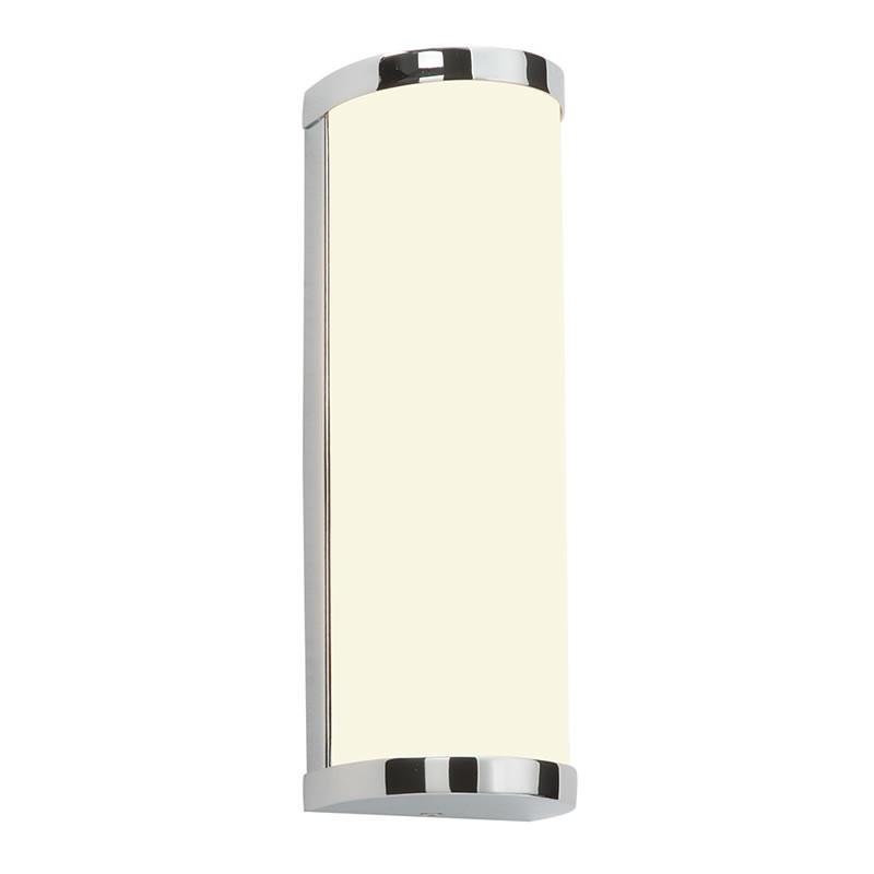 Ice Chrome Amp Diffused Glass Ip44 Bathroom Wall Light