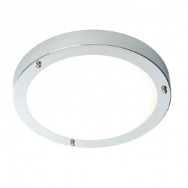 Endon Portico Polished Chrome IP44 Cool White LED Bathroom Light