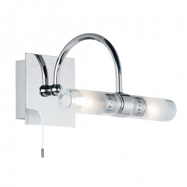 Endon Shore 2 Light IP44 Bathroom Wall Light