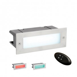 Seina Stainless Steel RGB IP44 4.5W Bricklight