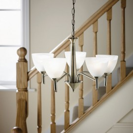 Neeson 5 Light Pendant Or Semi Flush Ceiling Light