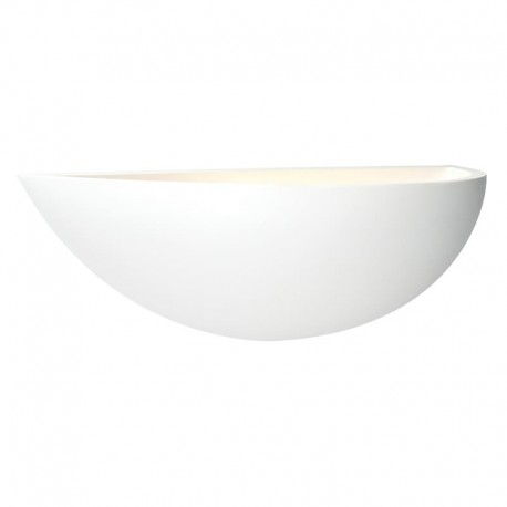 Mini Crescent Paintable Wall Uplighter