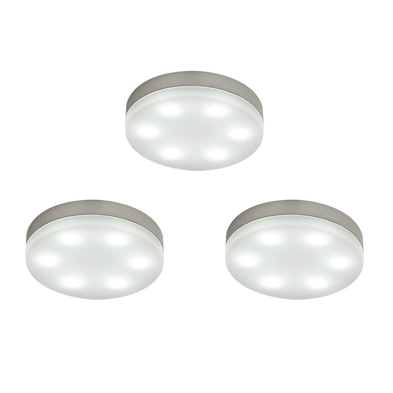 Marci Round Led Kitchen Under Cabinet Lighting Kit