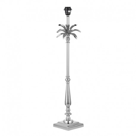 Leaf 785mm Polished Nickel Table Lamp Base Only