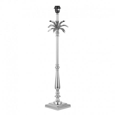 Leaf 785mm Polished Nickel Table Lamp Base Only