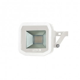 White 8W Slimline Guardian Floodlight