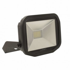 LUCECO BG Black 38W Slimline Guardian Floodlight