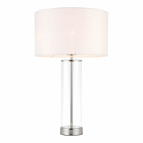 Lessina Touch Activated Nickel Table Lamp