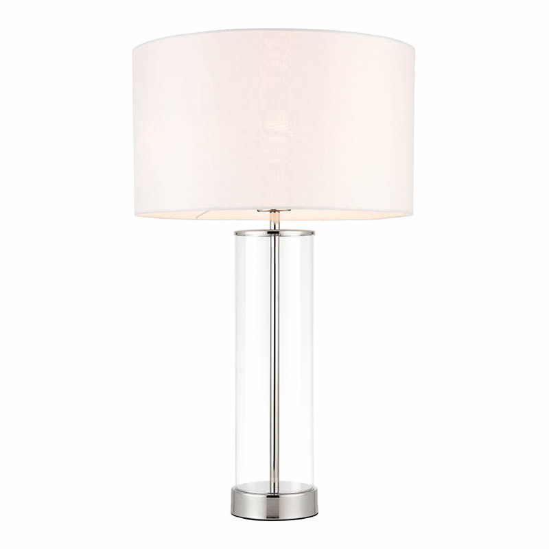 Lessina Touch Activated Nickel Table Lamp 70600