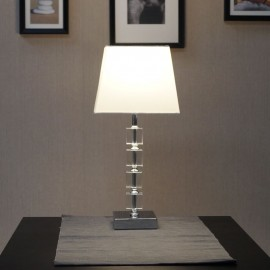 Endon Moreto Tapered Chrome Table Lamp