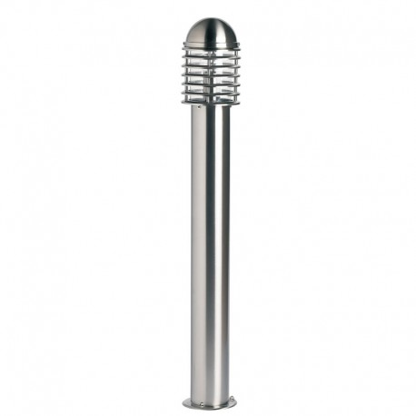 Louvre 1000mm Post Light IP44 Stainless Steel