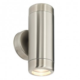 Saxby Atlantis Twin Outdoor Wall Light IP65