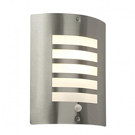 Bianco Exterior Wall Light With PIR Sensor
