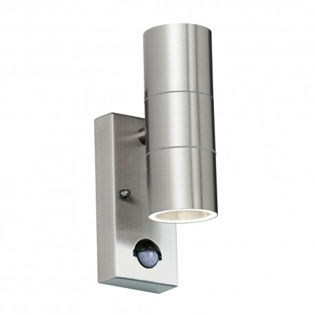 Canon Up Down Outdoor Wall Light With PIR Sensor