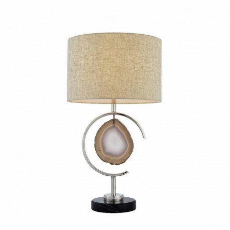 Agate Table Lamp