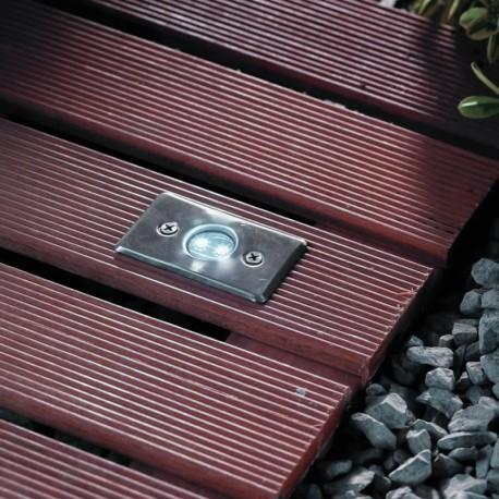 Axis White 12V LED Plug & Play Deck Light