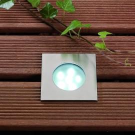 Breva White 12V LED Plug & Play Deck Light