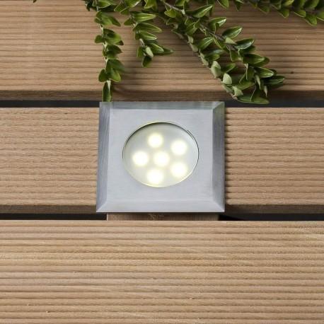 Leda Warm White 12V LED Plug & Play Deck Light