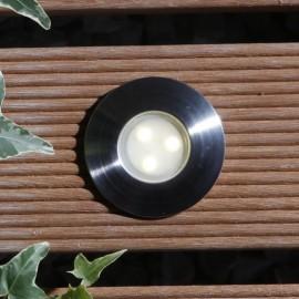 Birch Warm White 12V LED Plug & Play Deck Light
