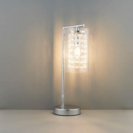 Alda Chrome Table Lamp With Bead Droplets