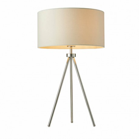 Tri Table Lamp Chrome