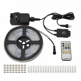 Saxby Aqualine 5m 24W IP44 CCT LED Strip Lighting Kit