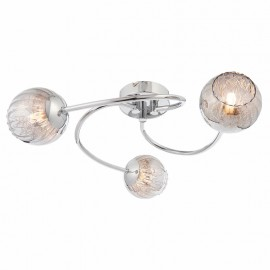 Endon Aerith 3 Light Semi Flush Ceiling Light