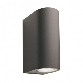Techmar Sibus 12V Plug & Play Anthracite Up / Down Wall Light