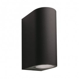 Sibus 12V Plug & Play Black Up / Down Wall Light