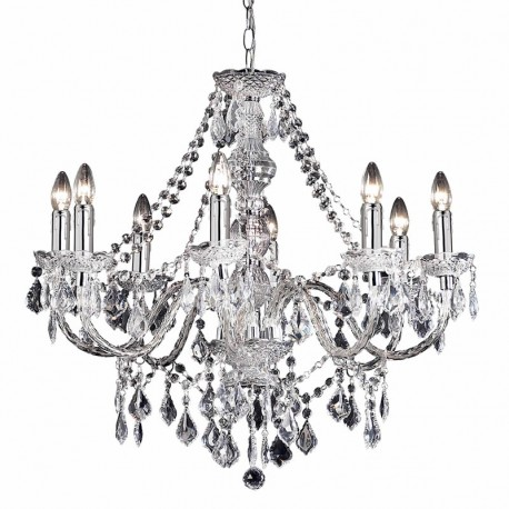 Clarence 8 Light Chandelier
